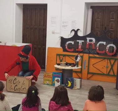 el circo de los cuentos dos