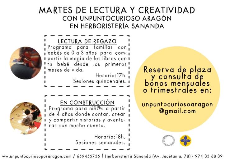 MARTES DE LECTURA Y CREATIVDAD_SANANDA2019_20