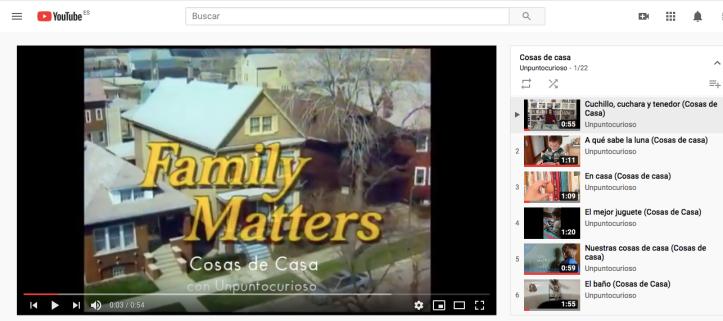 Cosas de Casa youtube